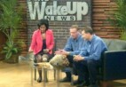 Two Wil-Kil employees on Fox 6 Wake Up News Station.